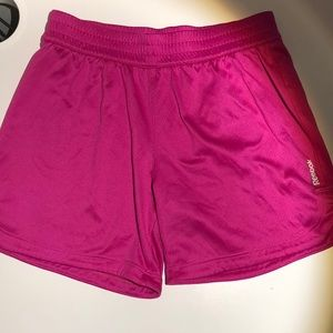 Girls medium Reebok shorts.